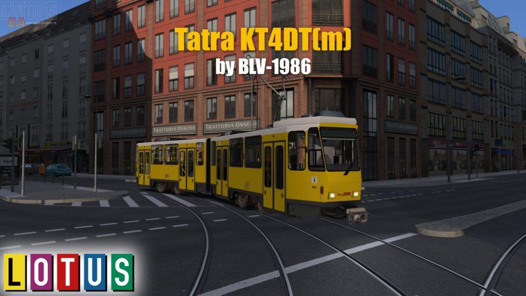 Tramvaj KT4DT(m)